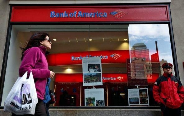 The closing of American bank branches